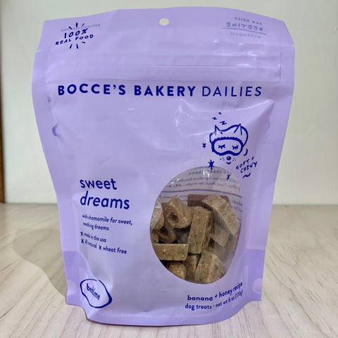 Bocce's Banana & Honey Dog Treats