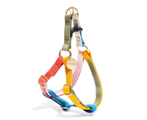 Henri Cotton Dog Harness