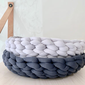 Hand Knit Pet Bed