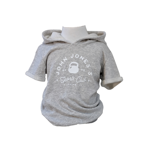Organic Grey Marle Gym Top