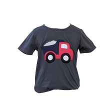 Load image into Gallery viewer, Organic Grey Truck T-shirt (Short sleeved)