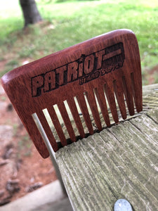 Wide tooth pocket comb