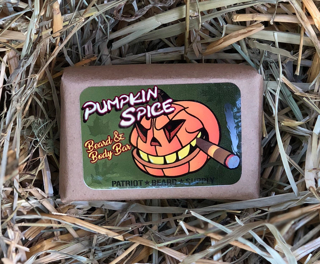 Pumpkin Spice Beard Bar