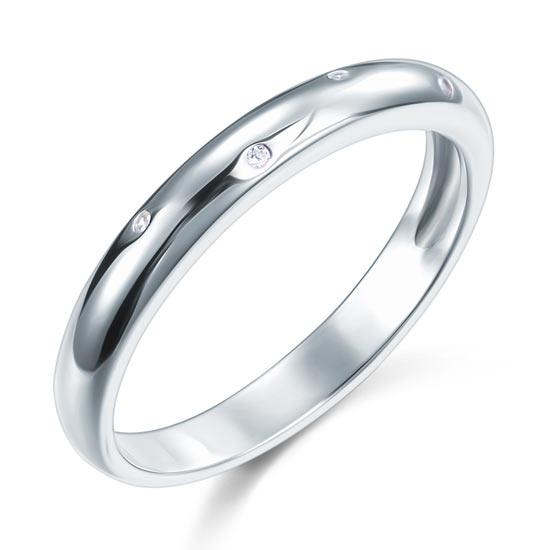 Sterling 925 Silver Wedding Band Ring