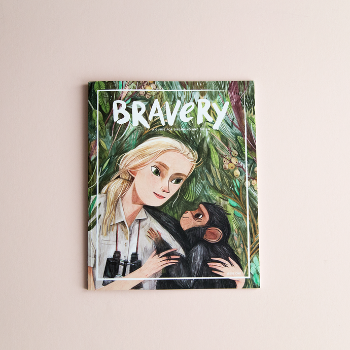 Our commission for Bravery Magazine