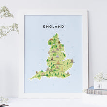 Load image into Gallery viewer, England Map
