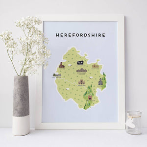 Herefordshire Map