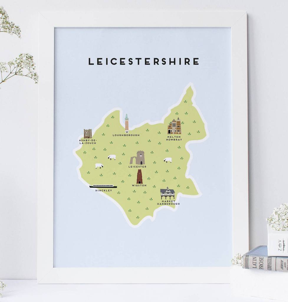 Leicestershire Map