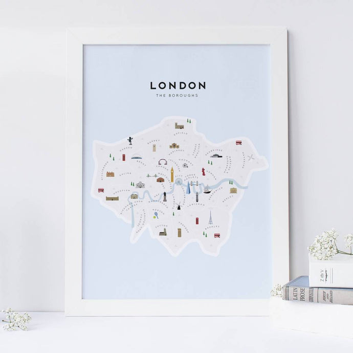 London Boroughs Map