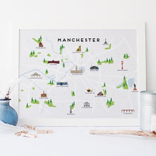 Load image into Gallery viewer, Manchester Map