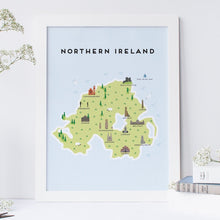 Load image into Gallery viewer, Northern Ireland Map