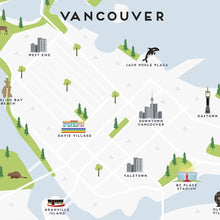 Load image into Gallery viewer, Vancouver Map