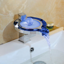 Intelligent Led Waterfall Faucets