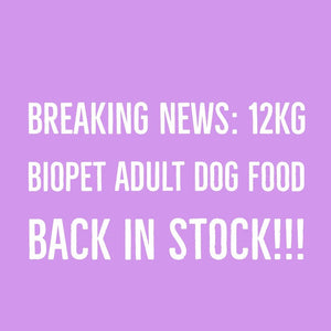 BIOpet Back in Stock