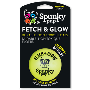 NEW! Fetch & Glow Ball - Med 6cm / Large 9cm