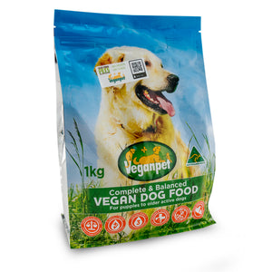 Veganpet Dog Food 1kg/3kg