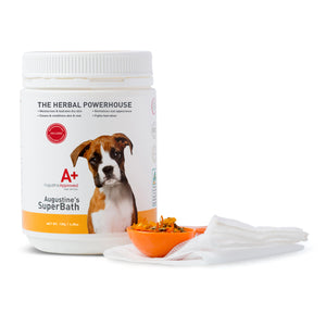 SuperBath - Natural Herbal Bath for your Dog