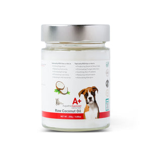 Coconut Oil - Certified Organic Raw Cold-Pressed 250g