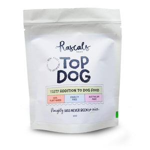 Rascals - Top Dog - Vegan Dog Food Topper 175g/500g