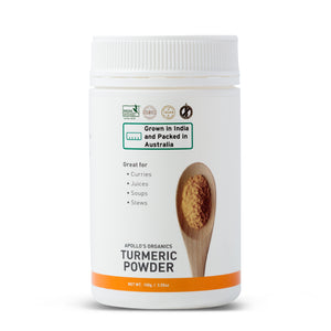 Certified Organic Tumeric Powder 100g