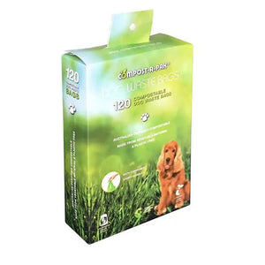 NEW! Box 120 Singlet Top Compostable Dog Waste Bags