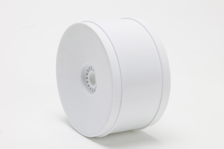 BE3100 BETA 1/8th Truck Wheels White