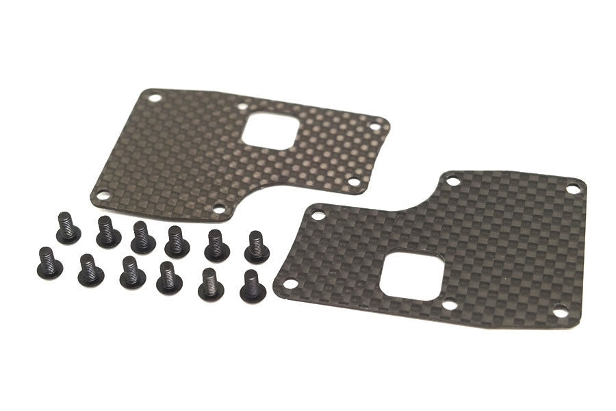 39202 A215 SV 1mm Carbon Rear Wishbone Stiffener (for soft wishbone)