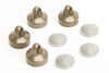 4289 High Rebound Shock Cap Set & Diaphragms (4)