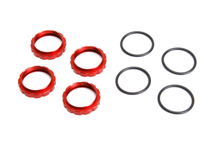 6252R Shock Adjustment Collars - Red