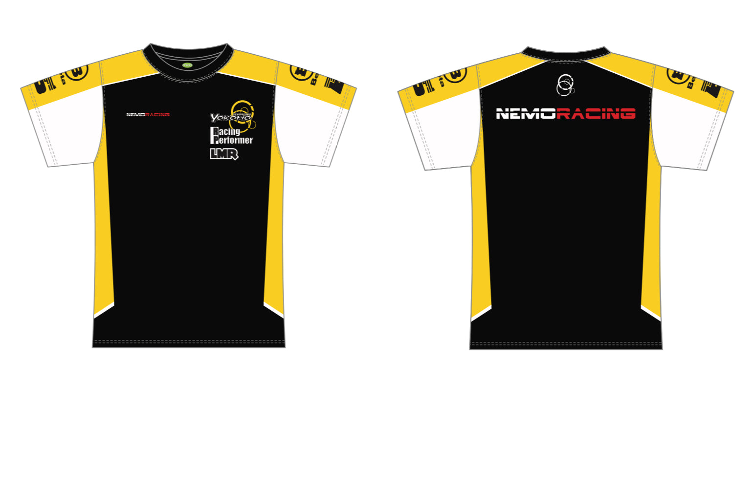 NMR001Y Official 1/10th Scale Factory Team Shirt