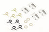 BE4468-1 BETA Aluminium Clutch Shoes, Springs and Washer Set (16)