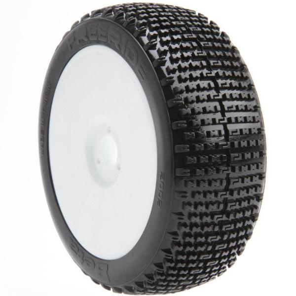 BE2112 Freeride Buggy Tire (White Wheel) (Pr) PREGLUED