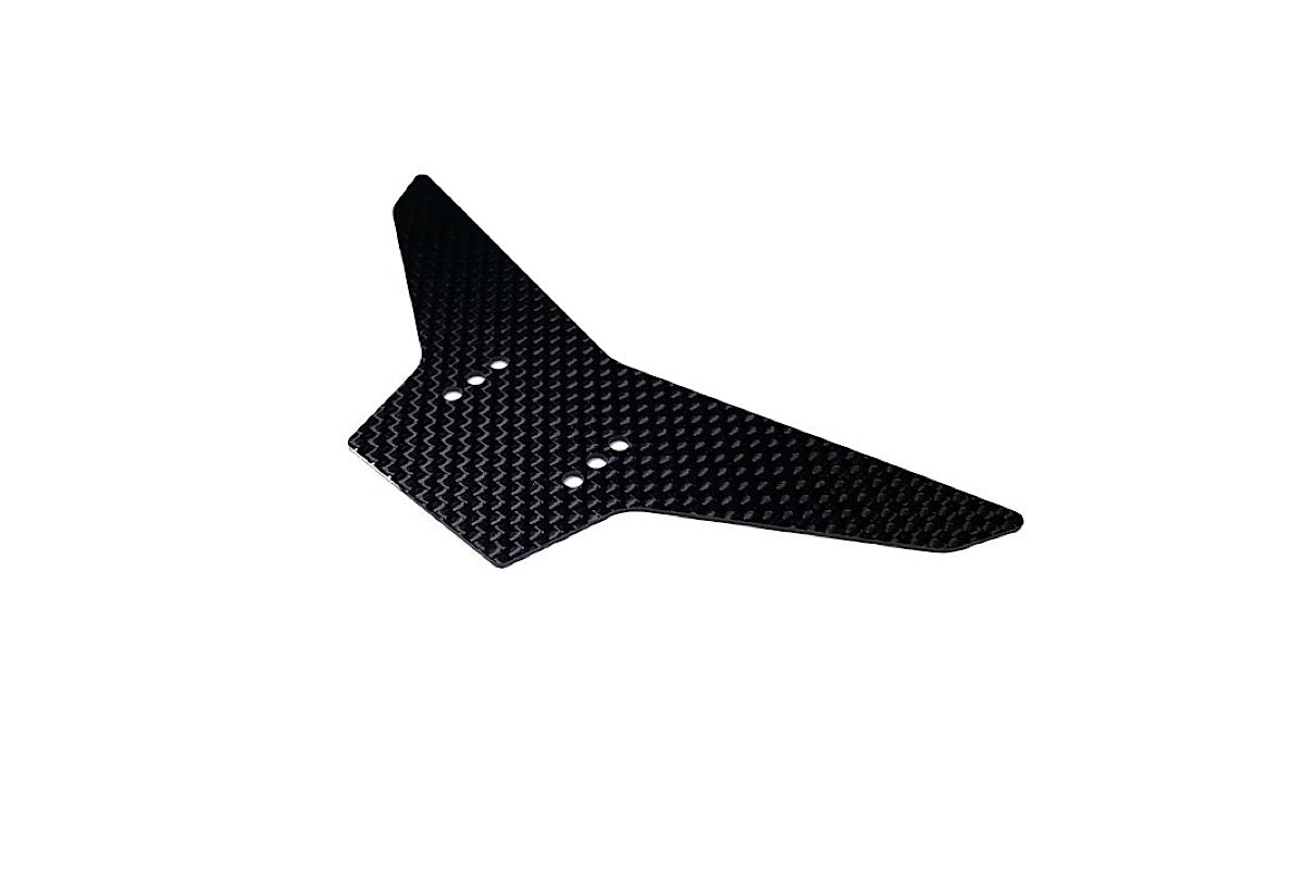 LMR1004 LMR '27' Carbon fibre wing plate - 1.0mm thick carbon