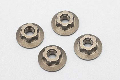 ZC-N4FLT	M4 Serrated Flange Nut-11mm Thin type