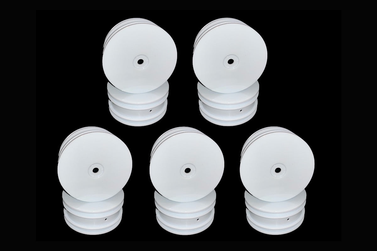 NMR-4WDW5PK Halo 4WD Front Wheel Pair (White) 5 Pair Bundle