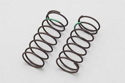 YS-A775	Big bore shock front spring (Green) All round