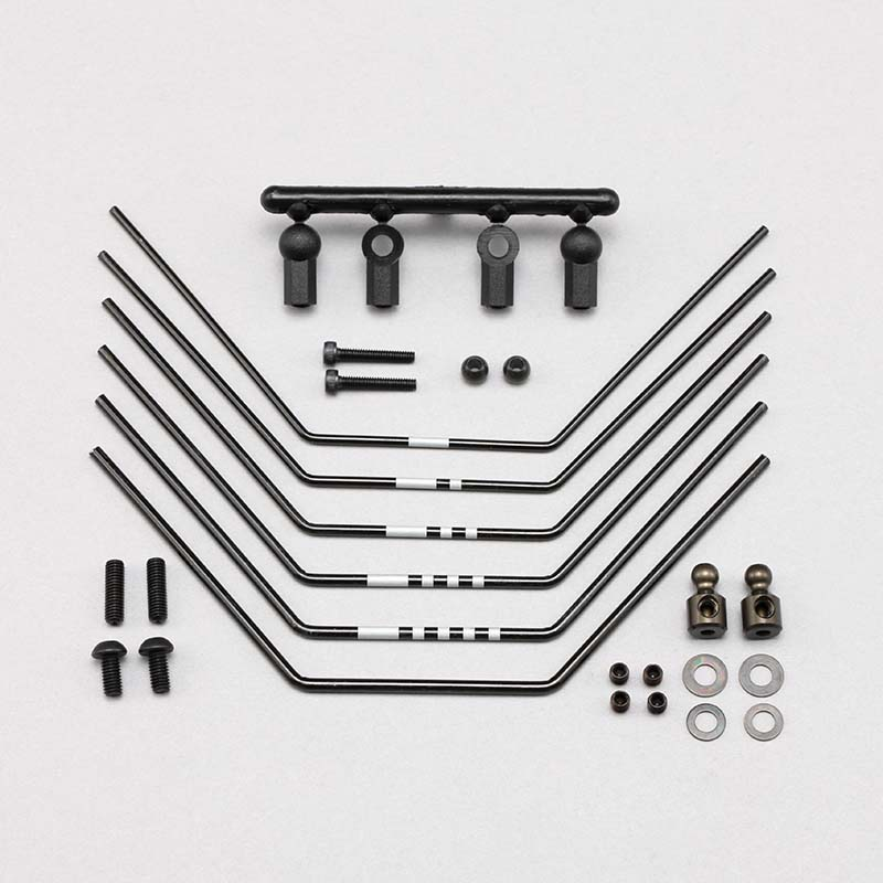 Z2-412R3 Stabilizer bar set(6pcs) for YZ-2DTM3/CAL3 Rear LD arm