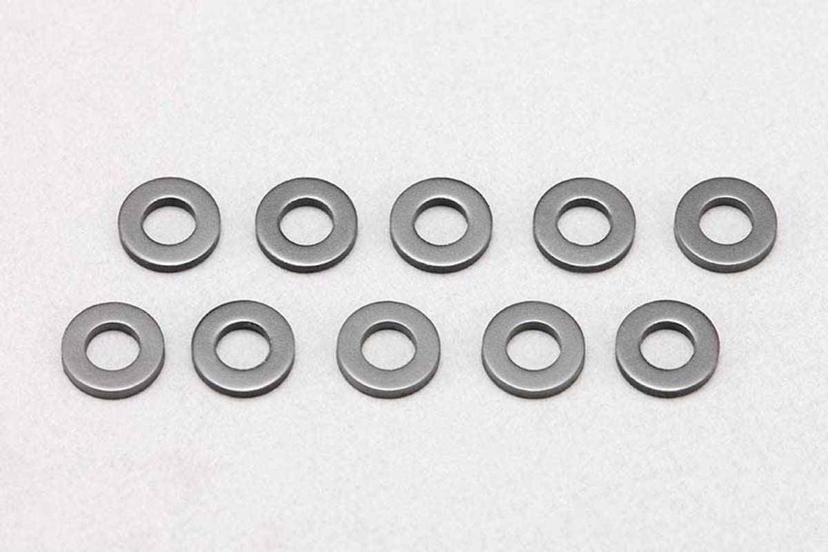 Z2-415S10 F/R Hub carrier spacer (1.0mm/10pcs)for YZ-2DTM3/CAL3