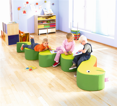 Sit and Play Snake Kids Soft Sitting Furniture by HABA