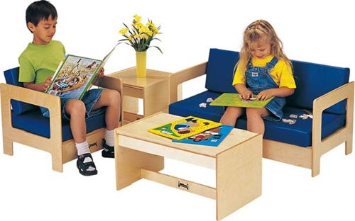 JONTI-CRAFT Kids Waiting Room Seating Set - Blue