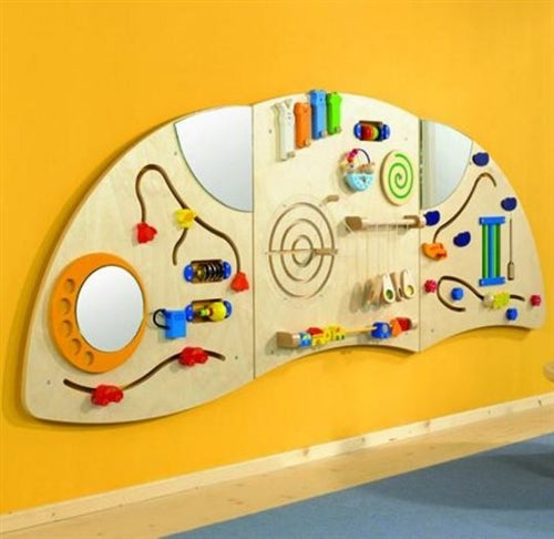 Learning & Sensory Activity Curve A Wall Panel