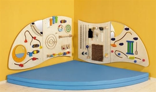 Learning & Sensory Kids Activity Wall Panel Dip A