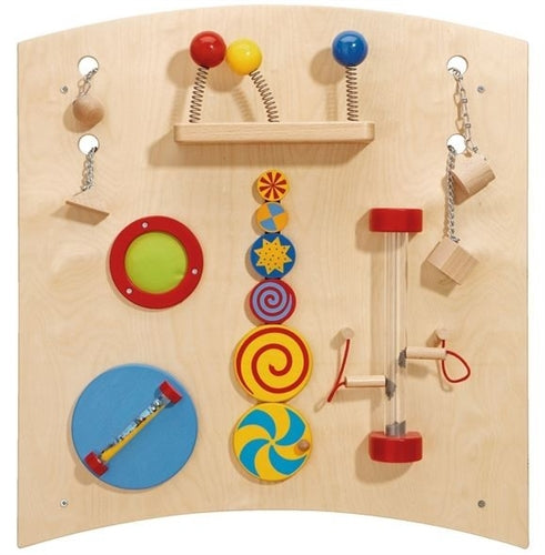 Learning & Sensory Activity Wall Panel Curve B