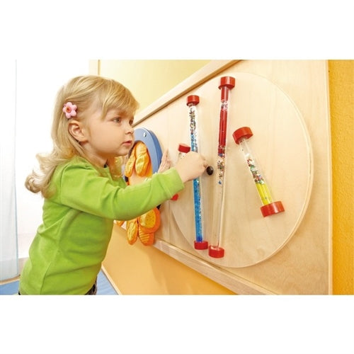 Glitter Rods Sensory Wall Activity Panel by HABA