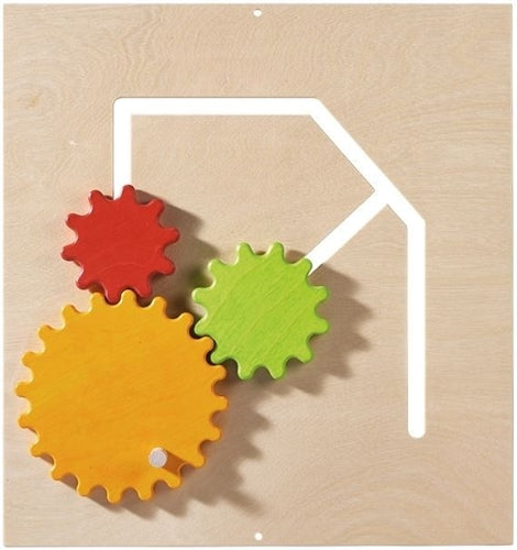 Gear Wheels Sensory Wall Activity Panel by HABA