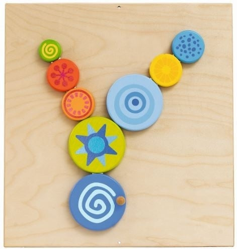 Special Effects Turning Discs Sensory Wall Activity Panel by HABA