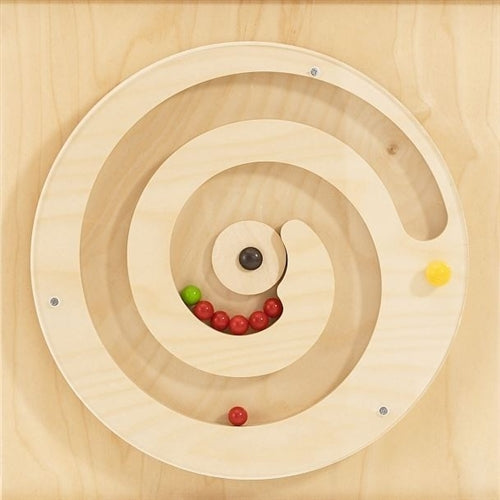Turning Spiral w/ Balls Sensory Wall Activity Panel by HABA