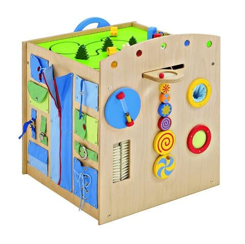 Sensory Island Multi Learning Play Cube by HABA
