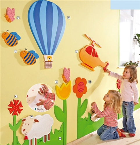 Meadow Wooden Play Wall Decoration