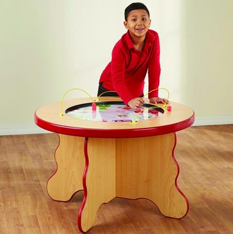 Fruit & Veggie Kids Activity Magnetic Play Table